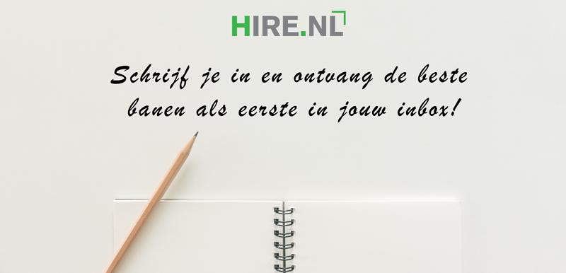 open sollicitatie bij Hire.nl